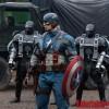 Chris Evans in pielea lui Captain America