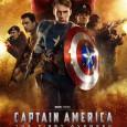 Poster in asteptarea premierei Captain America